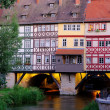 Stock Photo: Erfurt Kraemerbruecke 18
