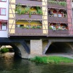 Erfurt kraemerbruecke 20 — Foto de Stock