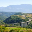 Stock Photo: GrSasso Autobahn - GrSasso freeway 01
