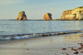 Hendaye rock 02 — Stock Photo