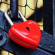 Padlock heart 02 — Stock Photo