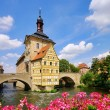 Stock Photo: Bamberg Rathaus - Bamberg townhall 04