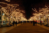 Berlin Unter den Linden Weihnachten - Berlin Under The Linden Trees christm — Stock Photo