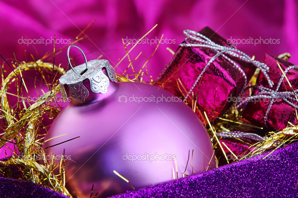 Weihnachtskugel - christmas ball 82 — Foto Stock #13151490