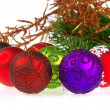 Weihnachtskugel freigestellt - christmas ball isolated 13 — Stock Photo