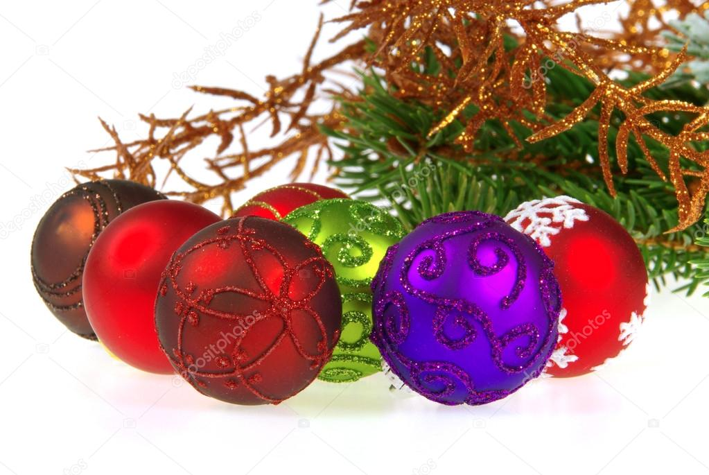 Weihnachtskugel freigestellt - christmas ball isolated 13 — Foto de Stock   #13184135