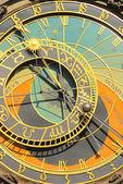 Prag uhr - relógio de torre prague 05 — Fotografia Stock