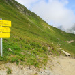 Furglerwanderung - hiking to mountain Furgler 07 - Stock Photo