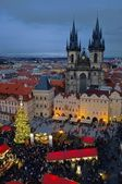 Prag Weihnachtsmarkt - Prague christmas market 07 — Stock Photo