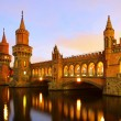 Stock Photo: Berlin Oberbaumbridge 02