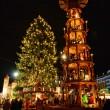 Dresden Weihnachtsmarkt - Dresden christmas market  01 — Stock Photo