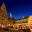 Dresden Weihnachtsmarkt - Dresden christmas market 13 — Stock Photo