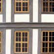 Fenster Fachwerk - window timber framing 02 — Stok fotoğraf