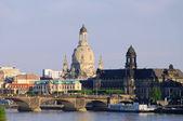Dresden Frauenkirche - Dresden Church of Our Lady 25 — Stock Photo