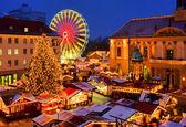 Magdeburg Weihnachtsmarkt - Magdeburg christmas market 02 — Stock Photo