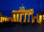 Berlijn brandenburger tor nacht - berlijn brandenburg gate nacht 01 — Stockfoto