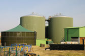 Biogasanlage - biogas plant 65 — Stock Photo