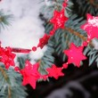 Sternkette im Baum - necklet from stars in tree 03 — ストック写真 #13656561