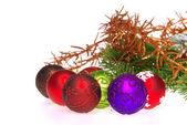 Weihnachtskugel freigestellt - christmas ball isolated 14 — Stock Photo