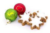 Zimtstern - star-shaped cinnamon biscuit 11 — Stock Photo