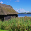 Huette am See - cabin by the lake 02 - Stock Photo