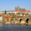 View of Prague Cathedral. Prague, Czech Republic. — Stock Photo