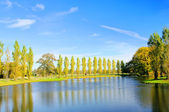 Woerlitzer Park See - English Grounds of Woerlitz lake 15 — Stock Photo