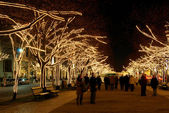 Berlin Unter den Linden Weihnachten - Berlin Under The Linden Trees christmas 03 — Stock Photo