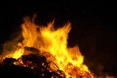 Hexenfeuer - Walpurgis Night bonfire 26 — Stock Photo