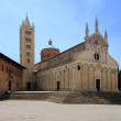 Massa Marittima Kathedrale - Massa Marittima cathedral 02 — Stock Photo