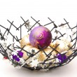 Weihnachtskugel in Schale - christmas ball in bowl 02 — Stock Photo