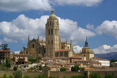 Segovia katedrale - segovia katedrali 01 — Stok fotoğraf