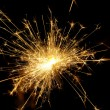 Stock Photo: Wunderkerze - sparkler 04