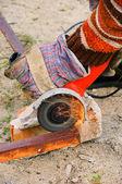 Winkelschleifer - angle grinder 03 — Stock Photo