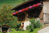 Almhette - chalet 06 — Stock Photo
