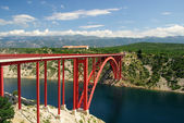 Novigrader Meer Brecke - Novigrad sea bridge 10 — Stock Photo