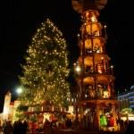 Drezna christmas market — Zdjęcie stockowe