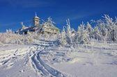 Mountain Fichtelberg — Stock Photo