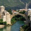 Mostar bridge - Stock Photo