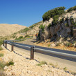 Stara Baska coast road - Stock Photo
