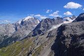 Rochas de alpes ortler — Foto Stock