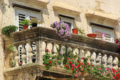 Balcony of Split city — Stock Photo