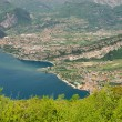 Lake Garda Nago-Torbole — Stock Photo