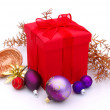 Gift isolated - Stockfoto