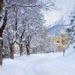 Seefeld castle in winter — Stock Photo #17984489