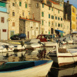 Sibenik harbor — Stockfoto #17984667