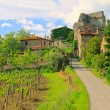 Stock Photo: Tuscany village