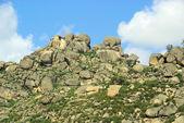 Valencia de alcantara granito piedra paisaje — Foto de Stock