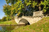 английский сад woerlitz wolfsbridge — Стоковое фото