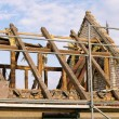 Roof truss demolish — Stock Photo #18565549